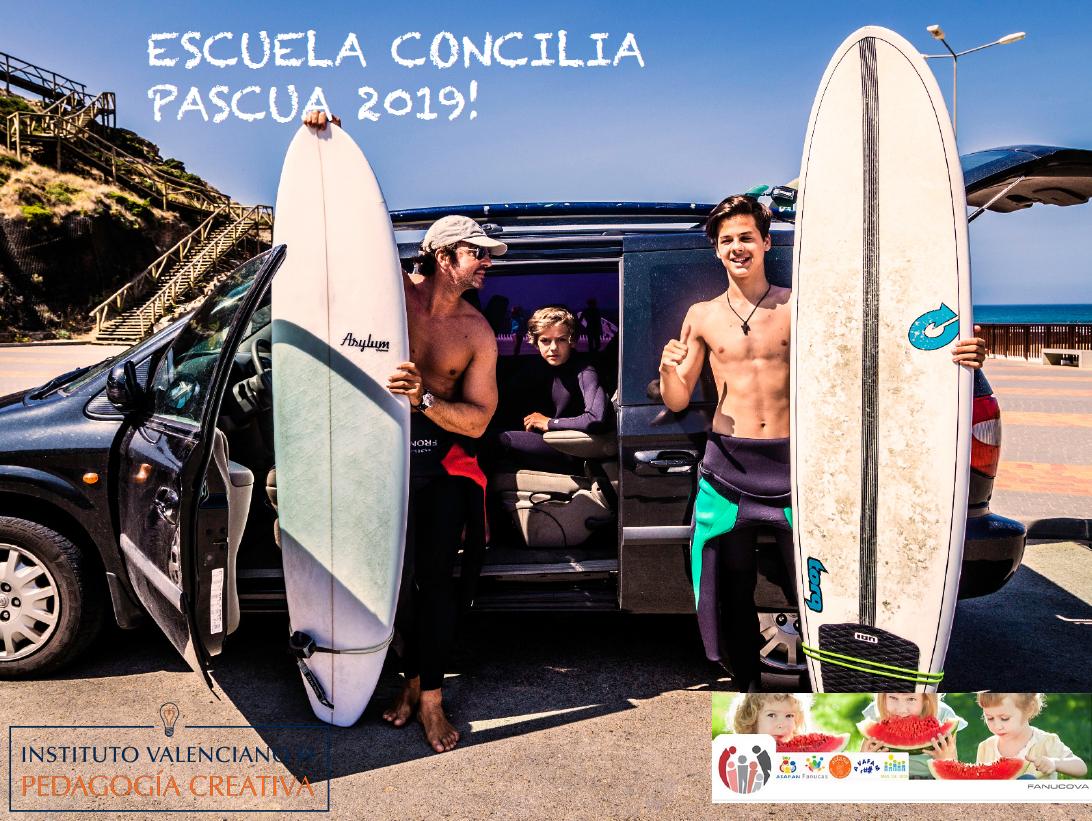 pascua 2019 chicos surfeando